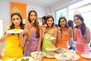 ส้ม ชนากานต์ ชัยศรี เปิดร้านบ้านส้ม  ขนมสวย (13)