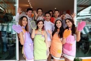 ส้ม ชนากานต์ ชัยศรี เปิดร้านบ้านส้ม  ขนมสวย (17)