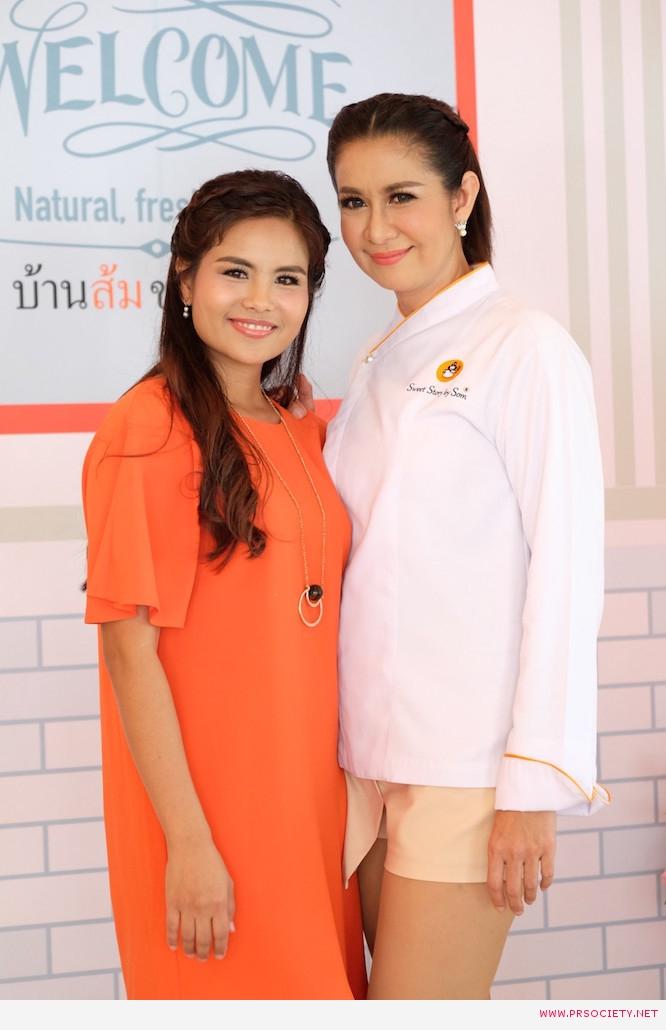 ส้ม ชนากานต์ ชัยศรี เปิดร้านบ้านส้ม  ขนมสวย (3)