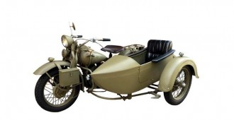 1942 Harley Davidson US Army WWII with Sidecar
