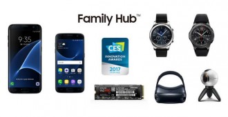 Samsung Wins 35 CES 2017 Innovation Awards