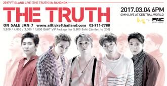 2017 FTISLAND LIVE ( THE TRUTH ) IN BANGKOK (TH)