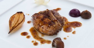 Elements_Roast Breast and Confit Leg of Quail with red cabbage, onions and sansho_2