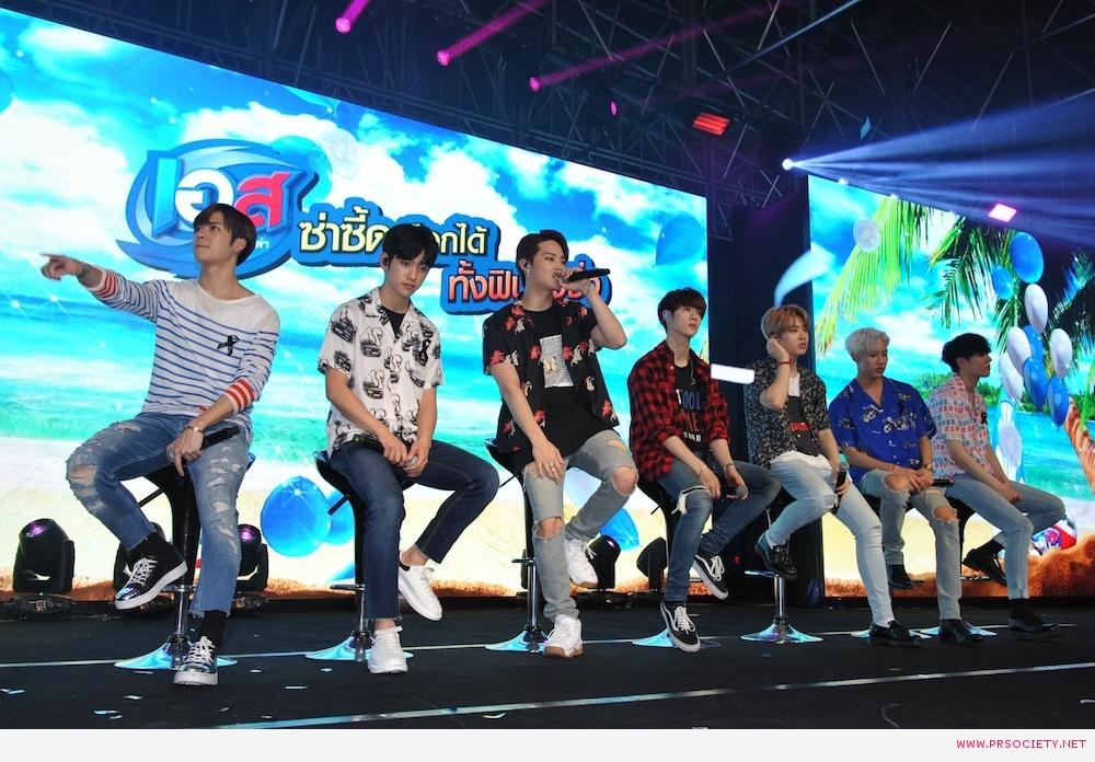 5.GOT7 ร้องเพลง Let me เป็นครั้งแรกในประเทศไทยเพื่องานนี้โดยเฉพาะ photo1