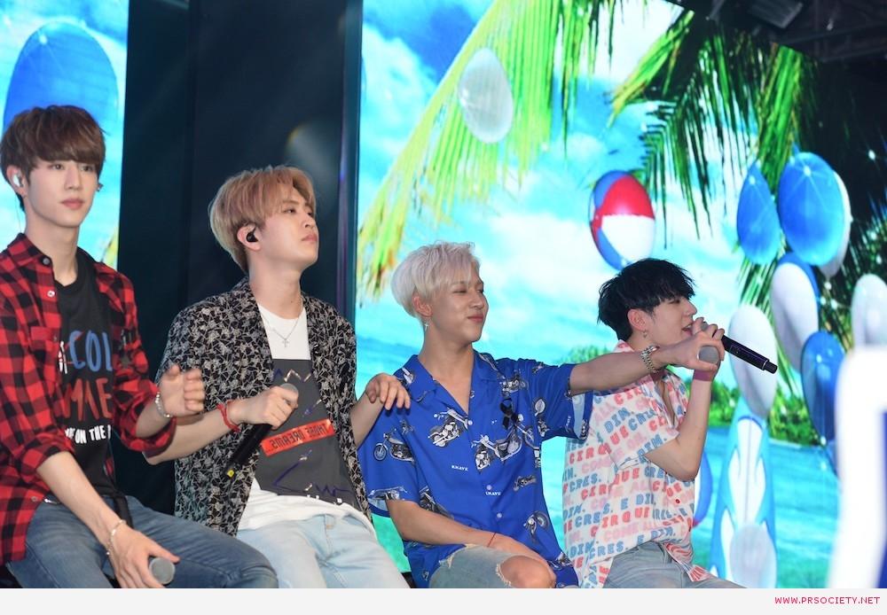 6.GOT7 ร้องเพลง Let me เป็นครั้งแรกในประเทศไทยเพื่องานนี้โดยเฉพาะ photo2