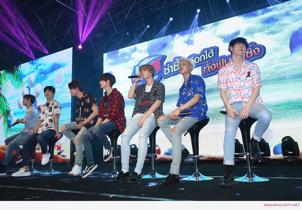 7.GOT7 ร้องเพลง Let me เป็นครั้งแรกในประเทศไทยเพื่องานนี้โดยเฉพาะ photo3