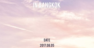 2017 SEVENTEEN 1ST WORLD TOUR DIAMOND EDGE IN BANGKOK (Poster)