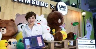 คุณวราพร และเคสมือถือ Samsung X LINE FRIENDS