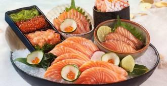 ZEN sashimi salmon oversize