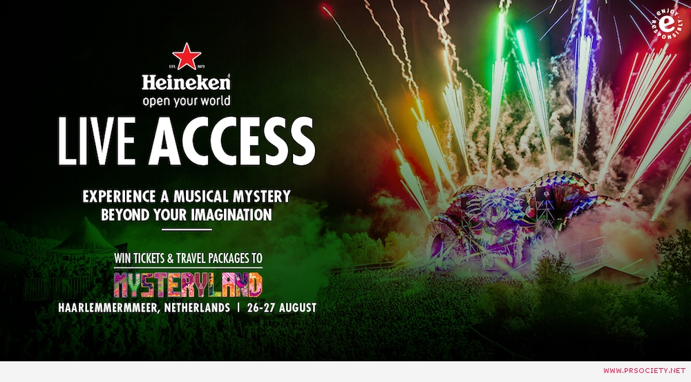 Heineken Live Access_Key Visual