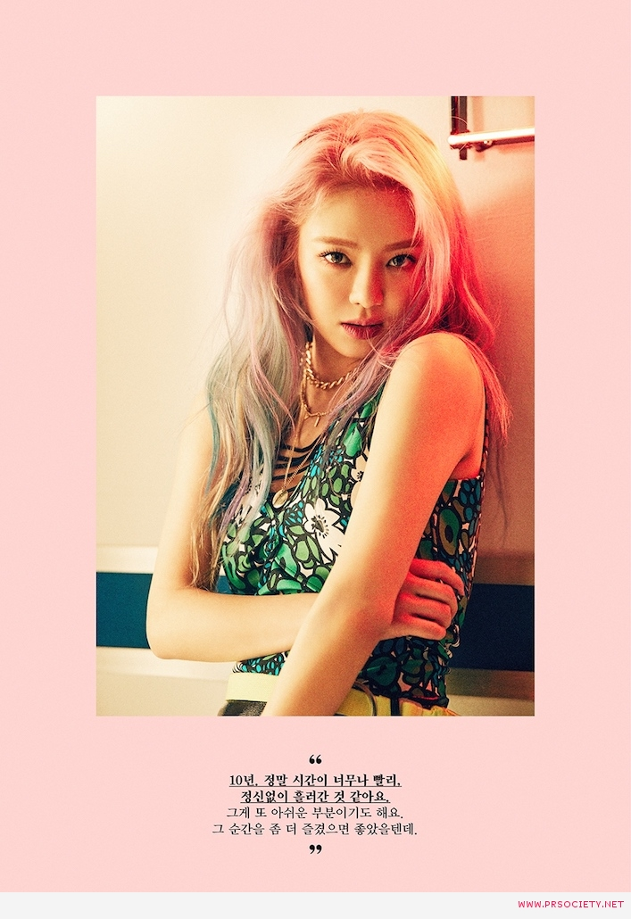 [Teaser Image_HYOYEON] The 6th Album 'Holiday Night'