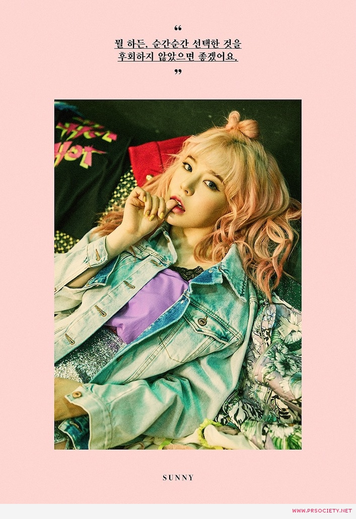 [Teaser Image_SUNNY] The 6th Album 'Holiday Night'