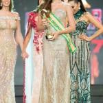 รองอันดับที่ 3 เบรนด้า แอสซาเรีย จิเมนเนส  the 3rd  Runner-Up went to Miss Brenda Azaria Jimenez from Puerto Rico