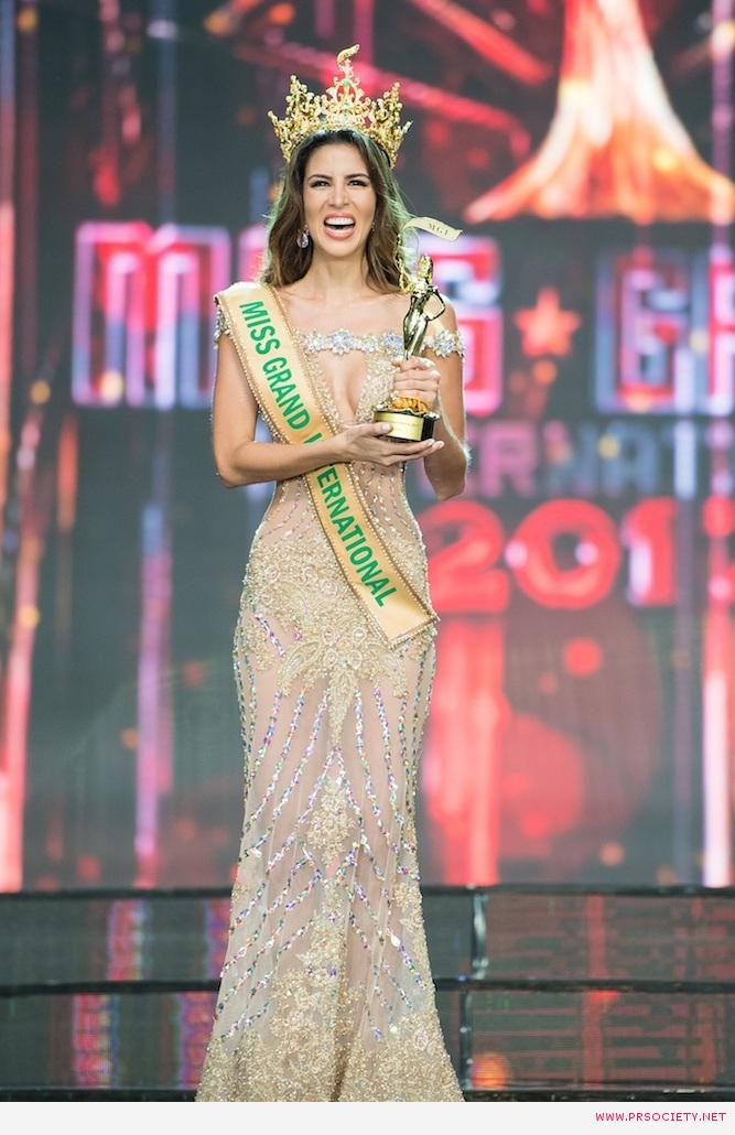 ในที่สุดก็มีวันนี้ Maria Jose Lora MISS GRAND INTERNATIONAL 2017.