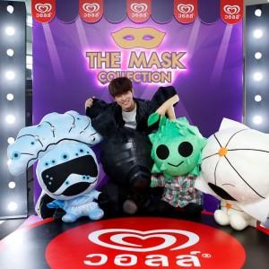 ก็อต อิทธิพัทธ์ และเหล่าตุ๊กตาสุดน่ารักจาก The Mask Collection