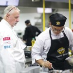 Cooking shot - Chef Santo Zoppis, Executive Chef Food and Beverage manager at Caffe'Chicco d'Oro - Copy