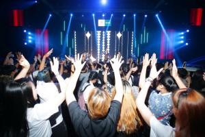 14.บรรยากาศในมินิคอนเสิร์ต