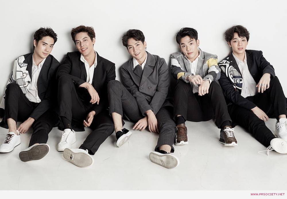 ตี้, เต้, คิมม่อน, คอปเตอร์ และ บาส วง SBFIVE