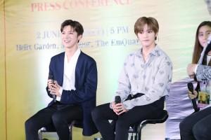 [Image 2] Press Conference of NCT U (TAEYONG x TEN) FAN MEETING in BANGKOK