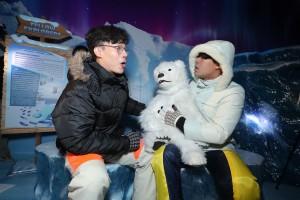 SEA LIFE_Polar Bear Cub (11)_Animatronic