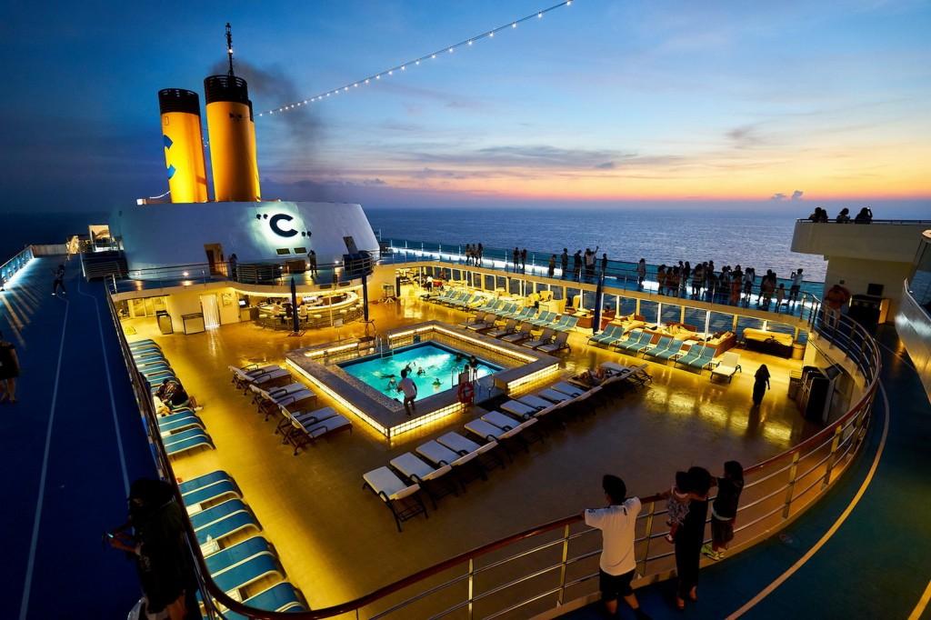 4.เรือสำราญสุดหรู Costa neoRomantica