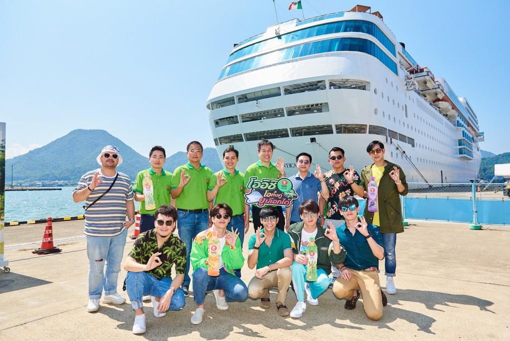 5.ผู้บริหารนำทีมล่องเรือสำราญสุดหรู