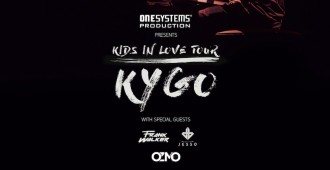 "17. Poster Concert ""One Systems Production Presents Kygo Kids In Love Tour"""