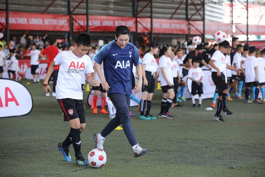 20_AIA Football Clinic Opening บอย