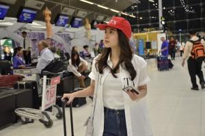 7. มิว Airport Look