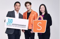 Shopee x JYP Partnership Photo
