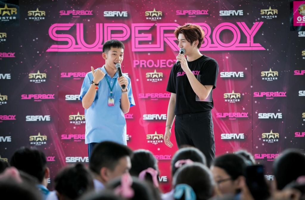 4. พรี-ออดิชั่น จำลองรายการ Superboy Project Presented by GSB เพื่อหาหนุ่มๆ ร่วมสมัครโปรเจกต์