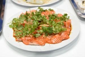 Menu Salmon
