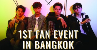 INTERSECTION_1stFanEvent_Thailand Poster