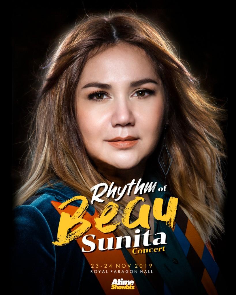 poster Rhythm of BEAU Sunita concert