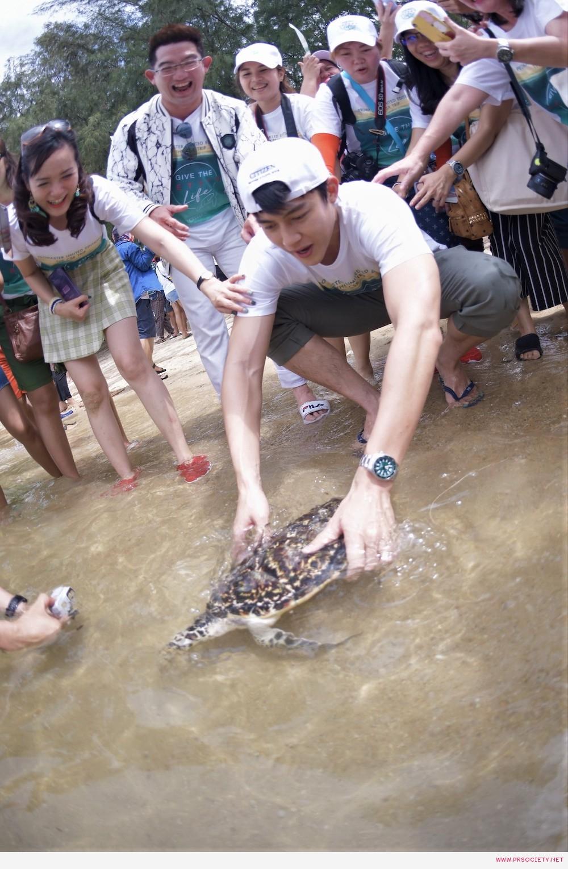 43 กิจกรรมปล่อยเต่าทะเล (5)