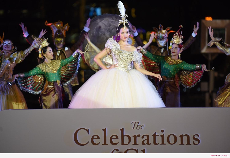 8.ญาญ่า - อุรัสยา  ร่วมโชว์การแสดงในชุด Happiness of Extraordinary สุขล้ำเหนือจินตนาการ