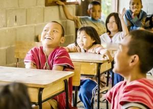 บรรยากาศน้อง ๆ ในห้องเรียน