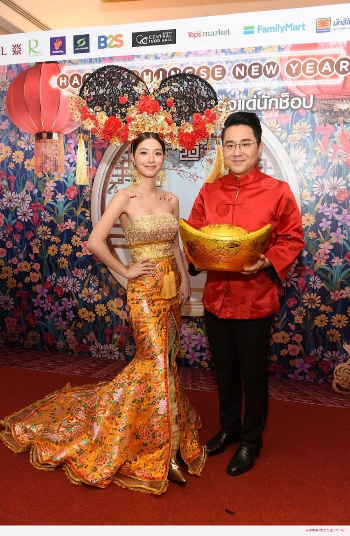 มิว-นิษฐา และหมอช้าง เชิญคนไทยจับจ่ายความสุขรับตรุษจีน (1)