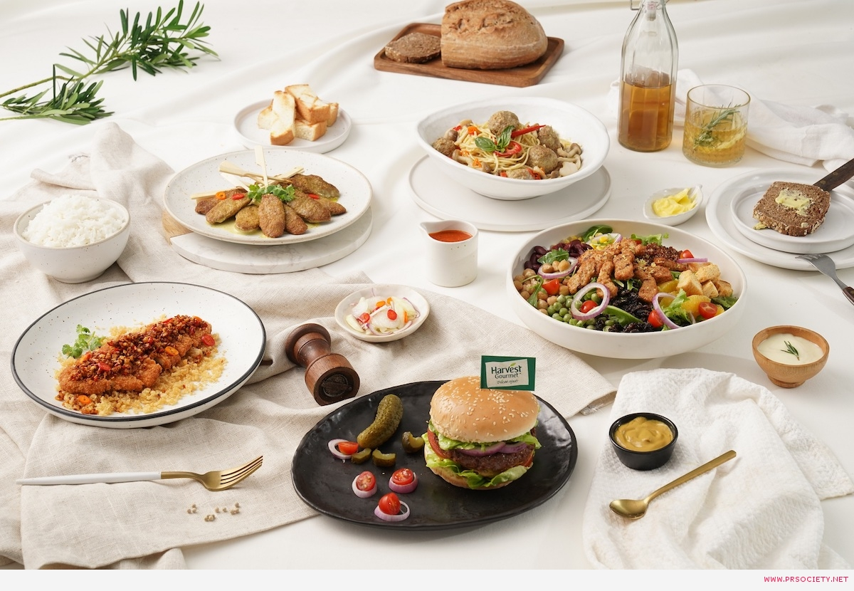 หลากหลายเมนู Plant-based Foods ที่รังสรรค์จากผลิตภัณฑ์ HARVEST GOURMET