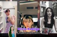 """ฮิตปรอทแตก!! เมื่อบรรดา TikToker พากันอัดคลิป  เพลง """"drivers license"""" ของ """"Olivia Rodrigo"""" แรงกระฉ่อนไปทุกที่!!"""