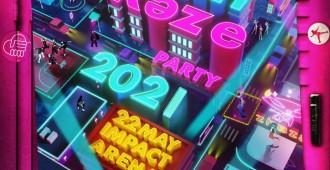 Kamikaze Party 2021-Poster